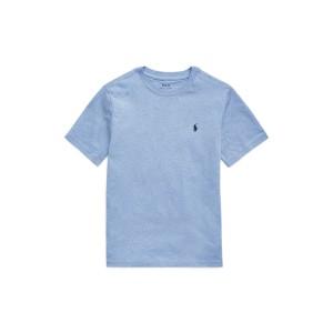 Cotton Jersey Crewneck T-Shirt <strong>Collin Blue, Hammond Blue, Sunset Green, Yellow Fin, Sapphire Star 전 사이즈 재고 소진 </strong>