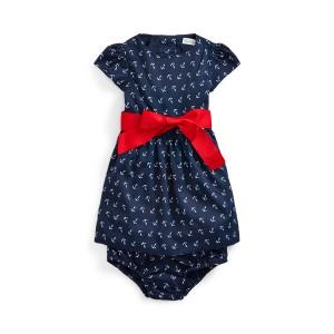 Anchor-Print Dress  Bloomer