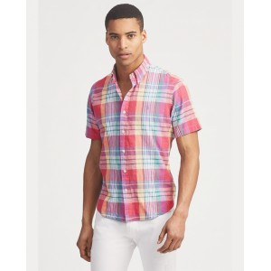 Classic Fit Madras Shirt