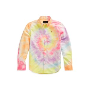 Tie-Dyed Cotton Oxford Shirt