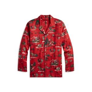 Scenic Flannel Pajama Shirt