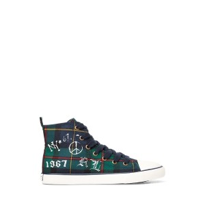 Hamptyn Cotton Hi-Top Sneaker