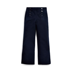 Cotton Twill Sailor Pant
