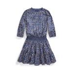 Floral Cotton Batiste Dress