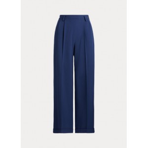 Duval Stretch Wool Crepe Pant