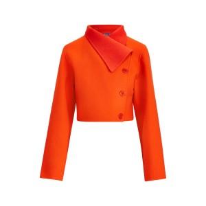 Jamie Two-Tone Wool Jacket