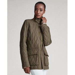 Leslie Quilted Barn Coat