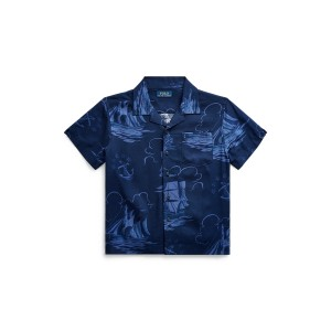 Sailboat-Print Shirt