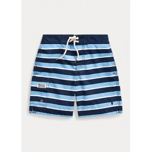 Striped Kailua Swim Trunk