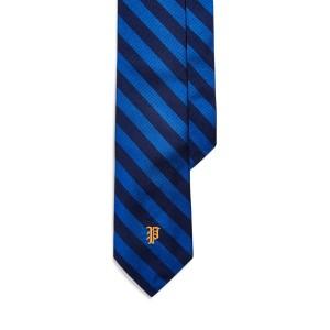 Striped Silk Narrow Tie