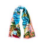 Riviera Cashmere-Silk Scarf