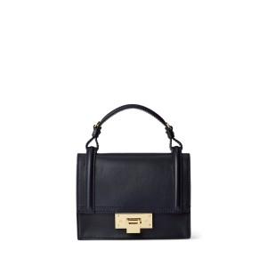 Calfskin Mini Hinge-Lock Bag