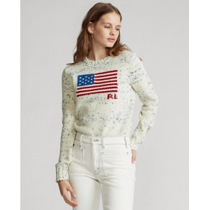 Flag Wool Sweater