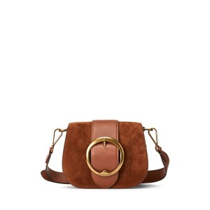 Suede-Trim Lennox Bag