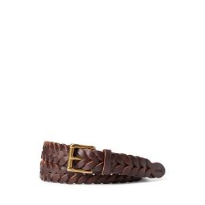 Braided Vachetta Leather Belt