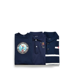 Bear Coverall 3-Piece Gift Set