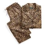 Leopard Sateen Pajama Set