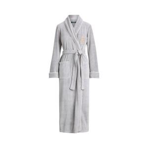 Fleece Shawl-Collar Robe