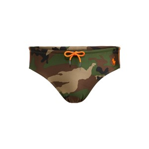 Camo Swim Brief