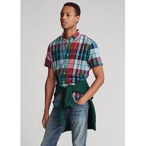 Classic Fit Madras Shirt