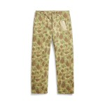 Camo Cotton Chino Pant