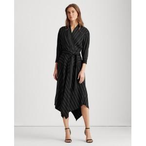 Collared Surplice Dress