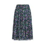 Floral Tiered Georgette Skirt