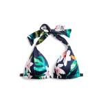 Tropical Halter Bikini Top