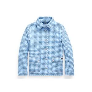 Gingham Water-Repellent Jacket