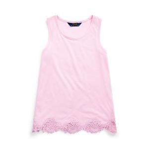 Lace Cotton-Modal Tank Top