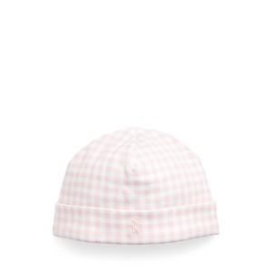 Gingham Cotton Interlock Hat