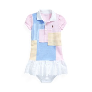 Patchwork Polo Dress  Bloomer