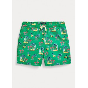 Flamingo Traveler Swim Trunk