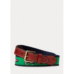 RL-YC Cotton-Leather Belt