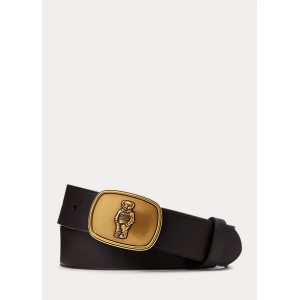 Sweater Bear Leather Belt