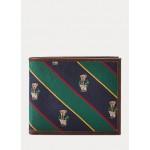 Polo Bear Tie-Stripe Billfold