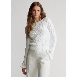 Aran-Knit Sweater