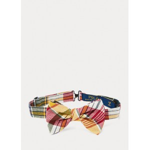 Cotton Madras Bow Tie