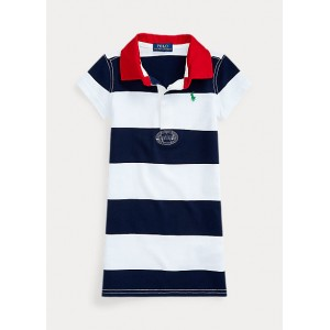 Striped Cotton Rugby Dress