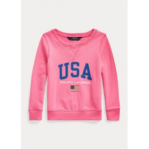 French Terry Graphic Pullover