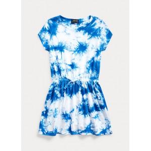 Tie-Dye Cotton Jersey Dress