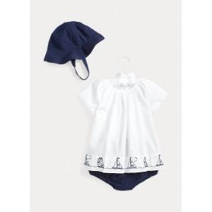 Nautical Hat, Top  Short Set