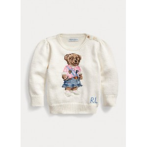 Spring Bear Cotton Sweater