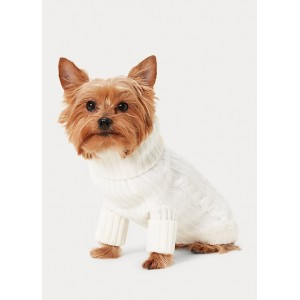 Buttoned Cashmere Dog Sweater