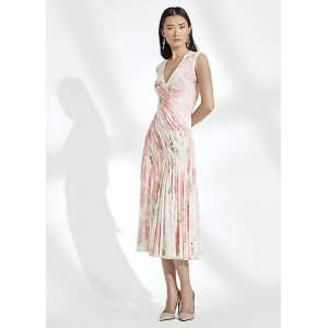 Annabeth Floral Jersey Dress