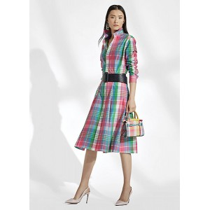 Aldene Madras Shirtdress