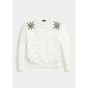 Studded Fleece Sweatshirt