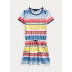 Striped Cotton Tee Dress