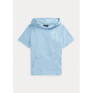 Cotton Mesh Hooded Tee