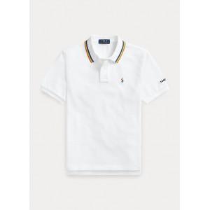 Pride Cotton Mesh Polo Shirt